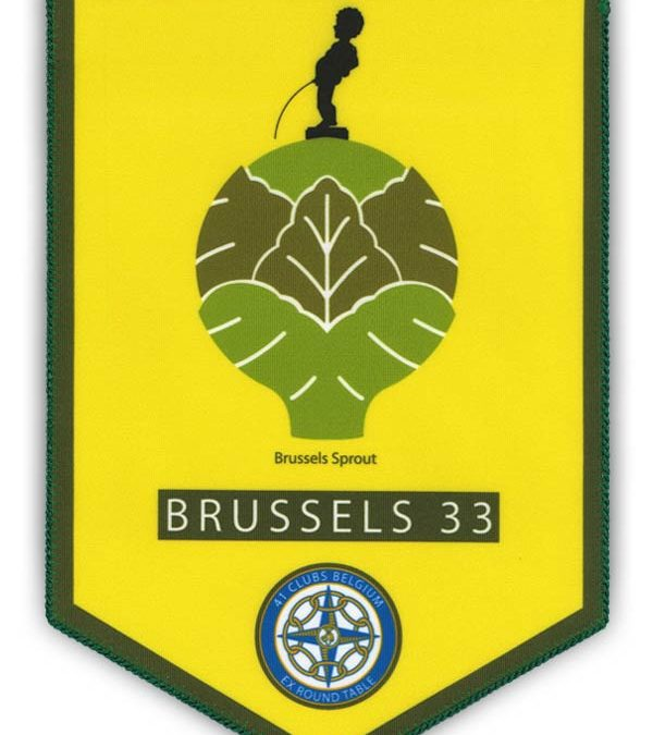 fanion Brussels 33
