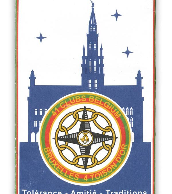 fanion Bruxelles Toison d'Or 4