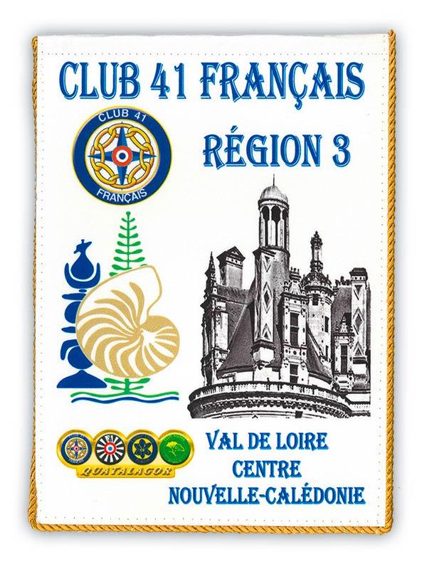 3ème région Val de Loire centre Nouvelle Calédonie